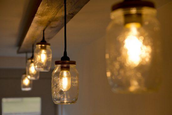 Potsteigerlamp